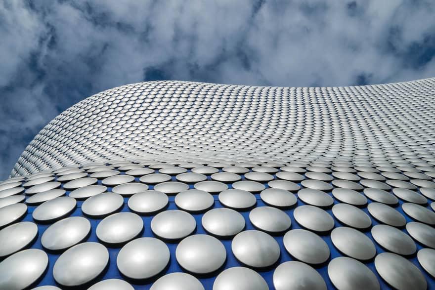 Selfridges Building - Birmingham - aluminio en la arquitectura