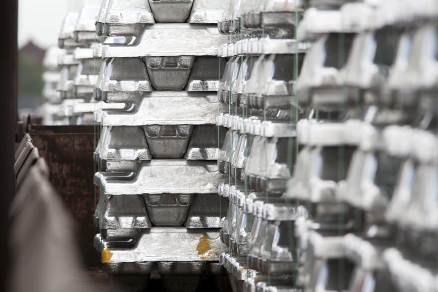 lingotes de aluminio para la producción