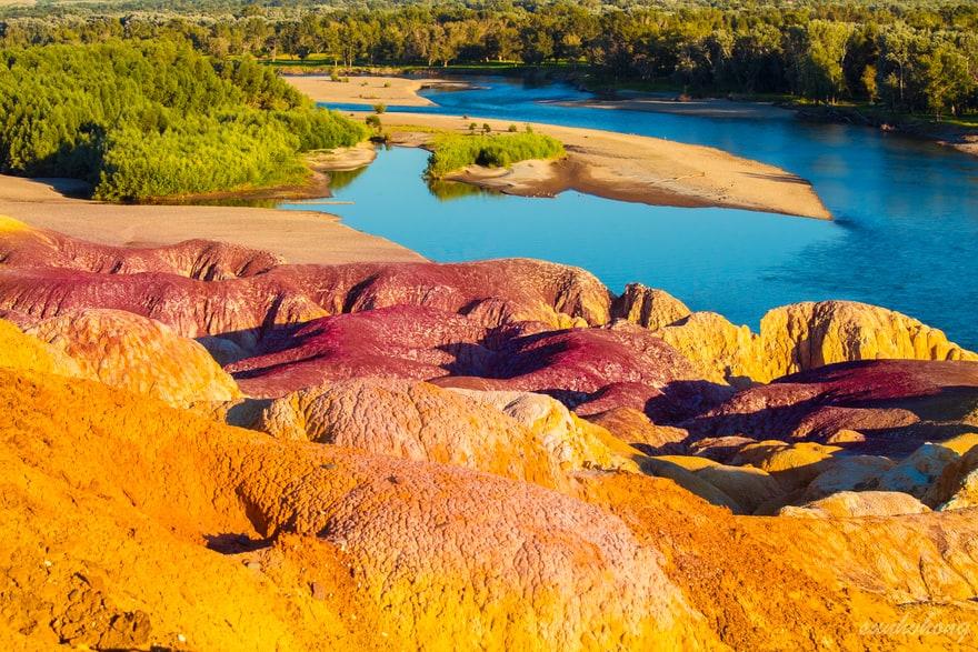mina de bauxita abandonada en Italia