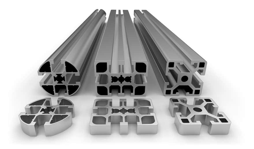 perfiles de aluminio extruido