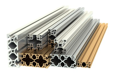 perfiles de aluminio anodizados