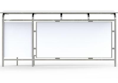 Exhibidor de aluminio (Showcase)